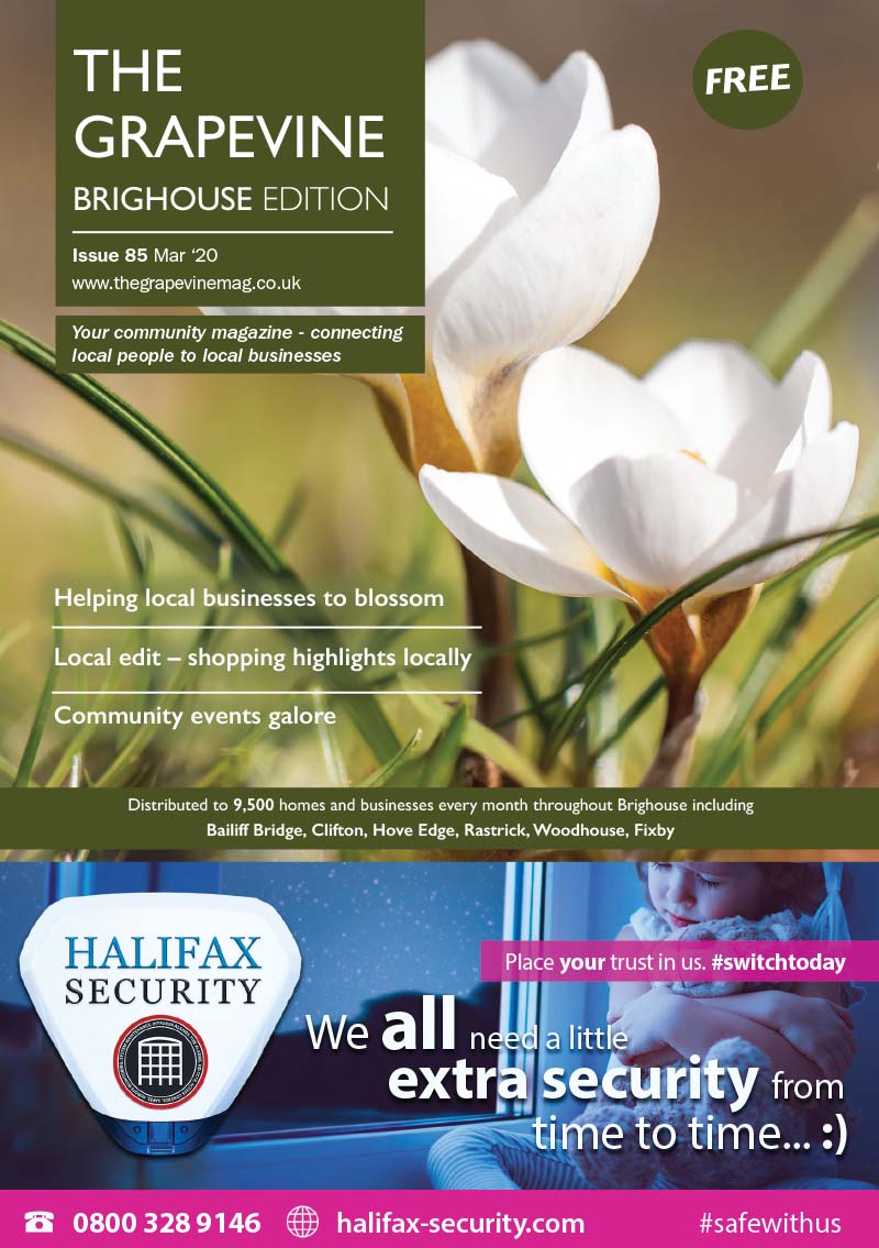 The Grapevine Magazine Brighouse Issue 85 March 2020